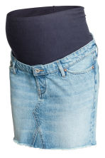 MAMA Gonna corta di jeans - Blu denim chiaro - DONNA | H&M IT 2