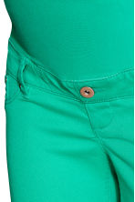 MAMA Twill shorts - Green - Ladies | H&M IE 3