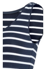 MAMA Jersey vest top - Dark blue/Striped -  | H&M IE 3