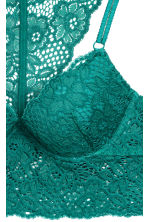 Push-up bralette - Emerald green - Ladies | H&M CN 3