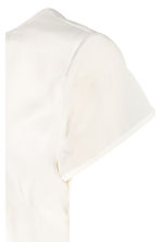 MAMA Crêpe blouse - Natural white - Ladies | H&M CN 4