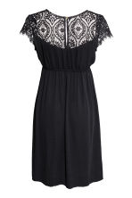 MAMA V-neck dress - Black - Ladies | H&M 3