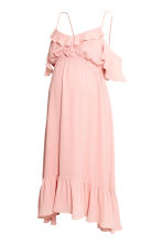 MAMA Chiffon dress - Powder pink - Ladies | H&M CN 2