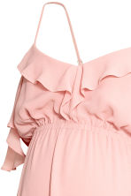 MAMA Chiffon dress - Powder pink - Ladies | H&M 4
