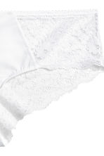 Microfibre hipster briefs - White - Ladies | H&M 3
