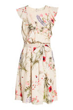 MAMA Nursing dress - Natural white/Floral - Ladies | H&M 3