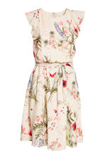 MAMA Nursing dress - Natural white/Floral - Ladies | H&M 2