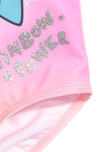 Maillot de bain imprimé - Rose/My Little Pony - ENFANT | H&M FR 2