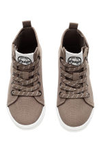Waxed trainers - Mole - Kids | H&M CN 2