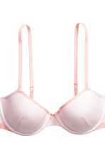 2-pack padded underwired bras - Apricot/Patterned - Ladies | H&M 3