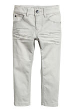 Stretchbyxa Slim fit - Ljusgrå -  | H&M FI 2