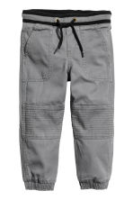 Pull-on trousers - Dark grey - Kids | H&M 2