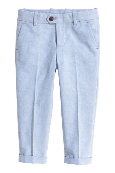 Suit trousers - Light blue - Kids | H&M CN 1