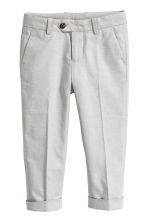 Suit trousers - Light grey - Kids | H&M 2
