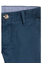 Cotton chinos - Dark blue - Kids | H&M CN 3