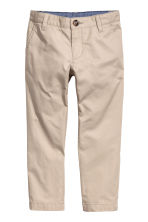Cotton chinos - Light mole - Kids | H&M 2