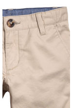 Cotton chinos - Light mole - Kids | H&M 3