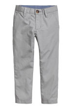 Cotton chinos - Grey - Kids | H&M 2