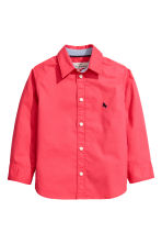 Cotton shirt - Coral red - Kids | H&M 2