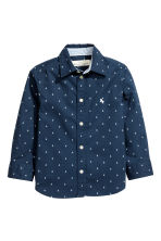 Cotton shirt - Dark blue/Anchor - Kids | H&M 2