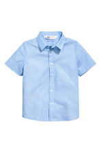 Short-sleeved shirt - Light blue -  | H&M CN 2