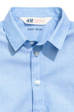 Short-sleeved shirt - Light blue -  | H&M 3