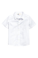 Short-sleeved shirt - White -  | H&M 2