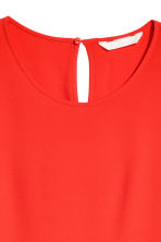 Short-sleeved top - Red - Ladies | H&M CN 3
