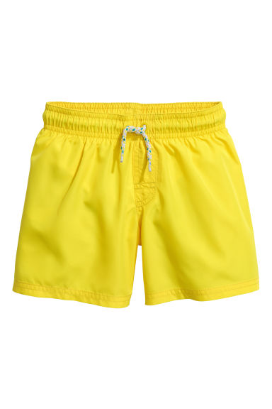 Short swim shorts - Yellow - Kids | H&M 1