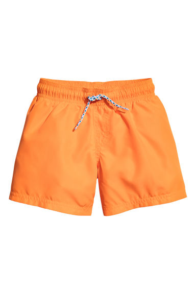 Short swim shorts - Orange - Kids | H&M CN 1