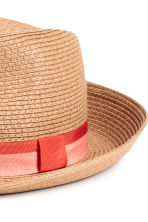 Straw hat - Natural - Ladies | H&M 2