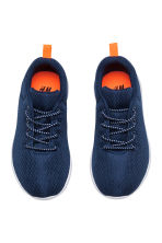 Sneakers in mesh - Blu scuro - BAMBINO | H&M IT 2