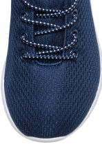 Mesh trainers - Dark blue - Kids | H&M CN 4