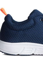 Mesh trainers - Dark blue - Kids | H&M CN 3
