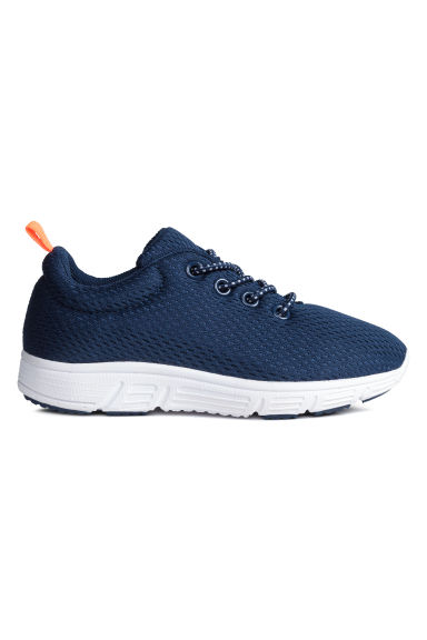Mesh trainers - Dark blue - Kids | H&M CN 1