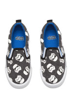 Slip-on trainers - Dark grey/Star Wars  - Kids | H&M CN 2