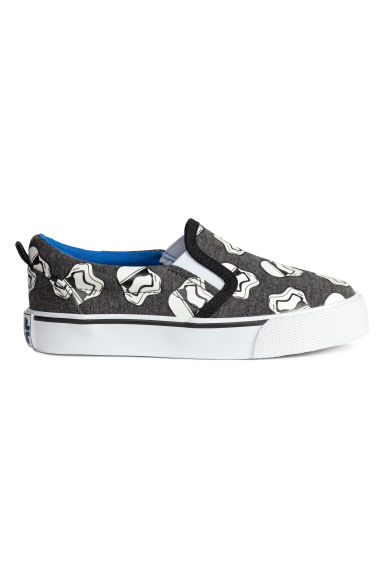 Slip-on trainers - Dark grey/Star Wars  - Kids | H&M CN 1