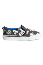 Slip-on trainers - Dark grey/Star Wars  - Kids | H&M 1