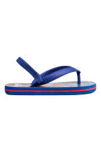 Flip-flops - Blue/Spiderman -  | H&M CN 2
