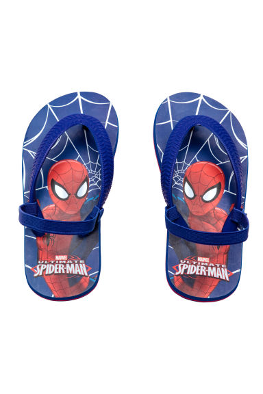 Flip-flops - Blue/Spiderman -  | H&M 1