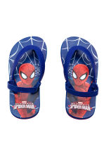 Flip-flops - Blue/Spiderman -  | H&M CN 1
