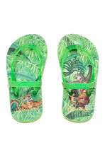 Flip-flops - Green/The Jungle Book - Kids | H&M CN 2