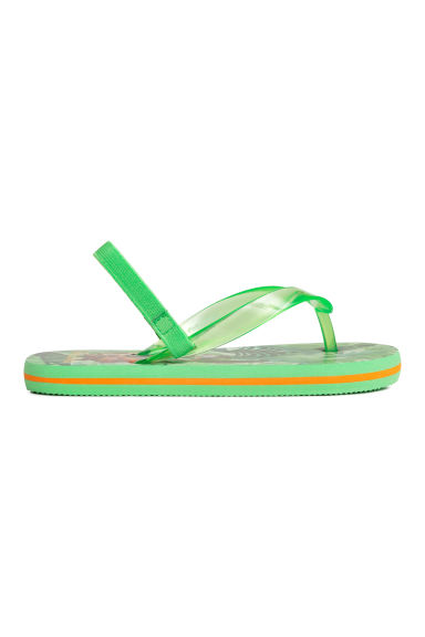 Tongs - Vert/Le Livre de la Jungle - ENFANT | H&M FR 1