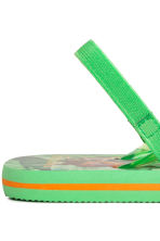 Flip-flops - Green/The Jungle Book - Kids | H&M CN 3