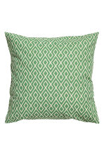 Copricuscino fantasia - Bianco/verde - HOME | H&M IT 1