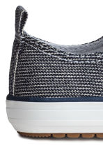 Trainers - Dark blue/Striped - Kids | H&M 3