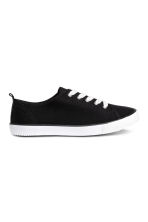 Sneakers in tela - Nero - BAMBINO | H&M IT 1
