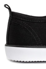 Sneakers in tela - Nero - BAMBINO | H&M IT 3