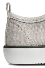 Canvas trainers - Light beige - Kids | H&M 3