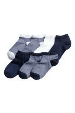 7-pack trainer socks - Dark blue - Kids | H&M 1